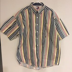 Tommy Hilfiger Button Down Shirt Long Sleeve XL